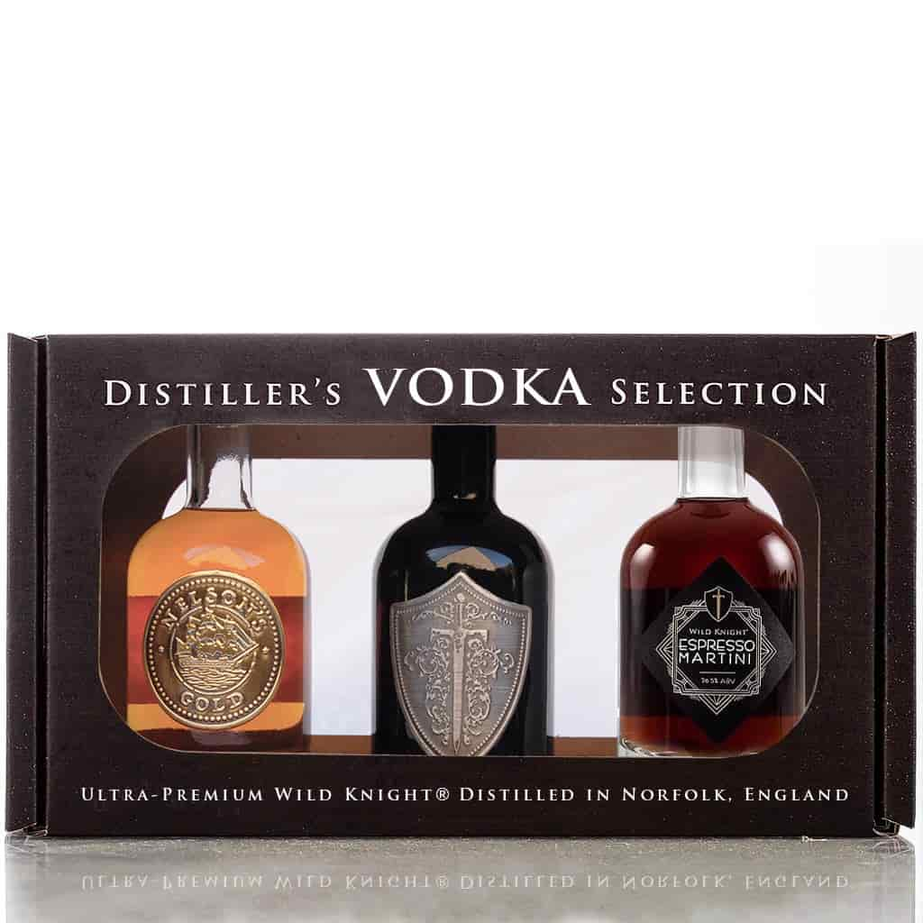 Distiller's vodka gift pack - Wild Knight® Distillery