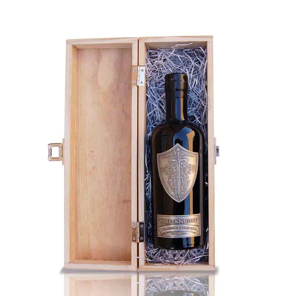 Gift Set: Wild Knight® Ultra-Premium English Vodka plus gift box