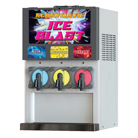 Slushtastic Fizzy Slush Machine T516-3 Blue Ice Fizzy Ice Blast T516-3