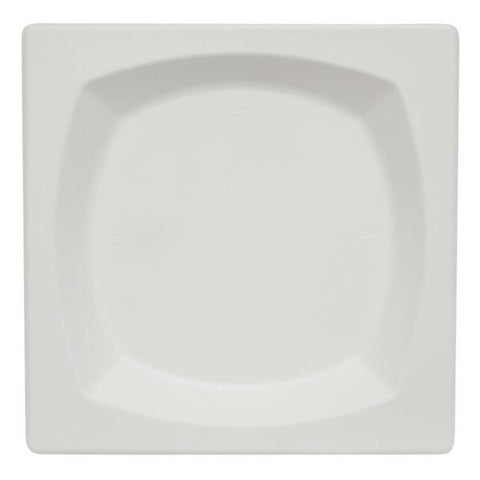 "Dispo Disposable Tableware 8.5"" / 500 Plates Bagasse Square Bistro Plates"