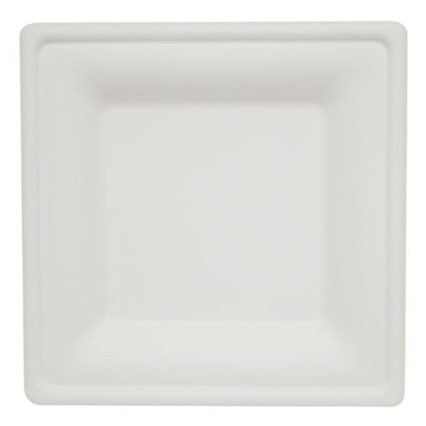 Dispo Disposable Tableware Bagasse Square Plates