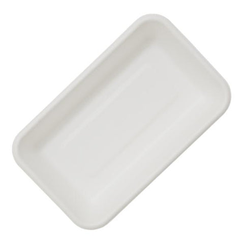 "Dispo Disposable Tableware 8.5"" x 5"" / 500 Trays Bagasse Deep Trays"