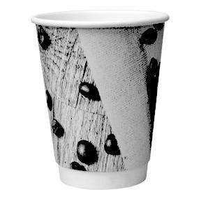 Dispo Double Wall Paper Cups Barista Mixed Design Double Wall