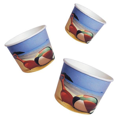 Parkers Packaging Ice Cream Tubs Beach Ice Cream Tubs