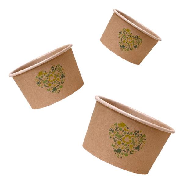 Parkers Packaging Ice Cream Tubs Bio Heart Ice Cream Tubs