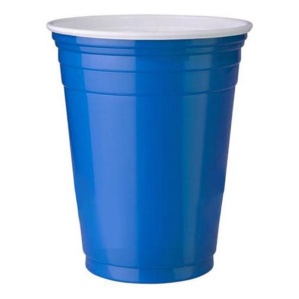 Blue Party Cups
