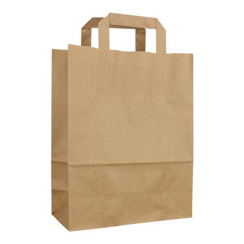 Brown Paper SOS Bags