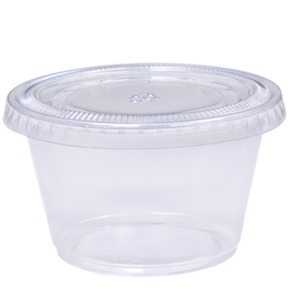 Clear PET Portion Cups