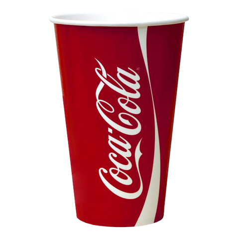Dispo Cold Cups Coke Paper Cup