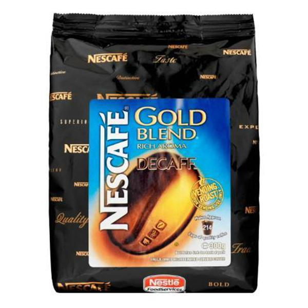 Nescafé Instant Coffee 10 x 300g Nescafé Gold Blend Decaffeinated
