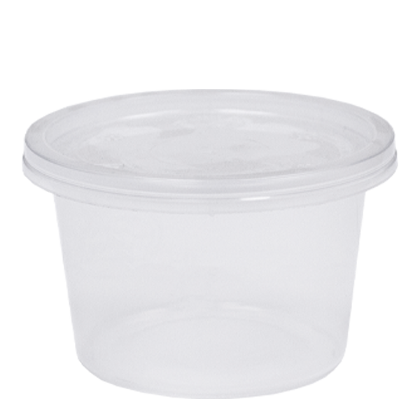 Microwavable Heavy Duty Portion Pots