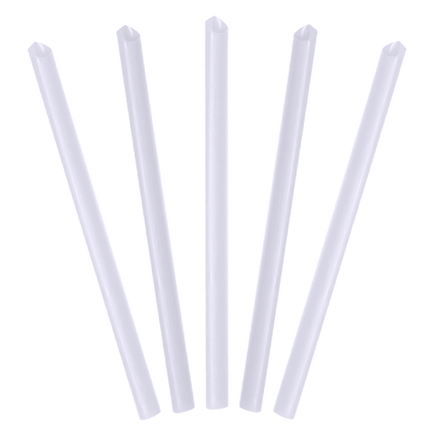 Clear Plastic Smoothie Straws