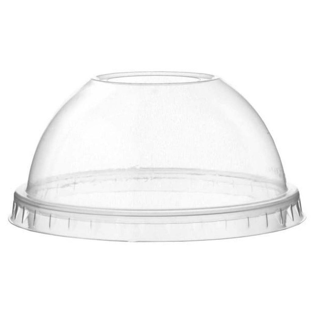 Dispo Domed Lids 9oz to 20oz / 1000 Lids Domed PLA Lids