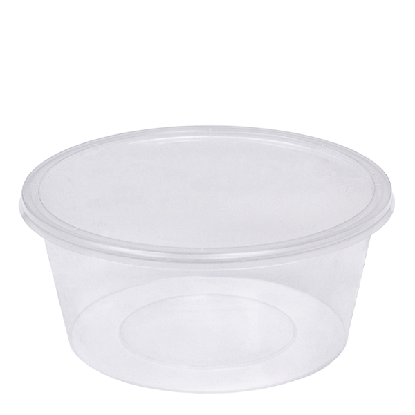Microwavable Round Container
