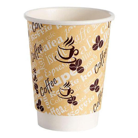 Paper Cups Direct Double Wall Paper Cups Red Bean Double Wall