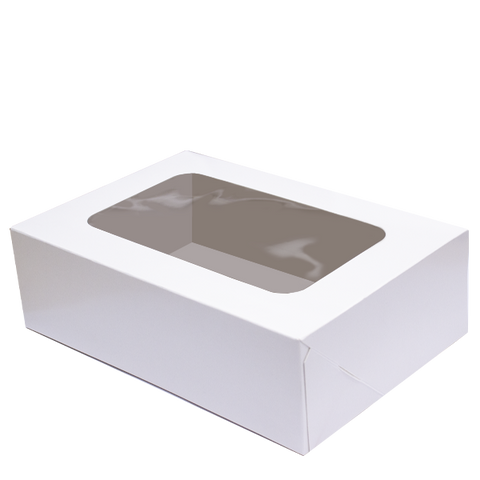 Plain White Cake Boxes