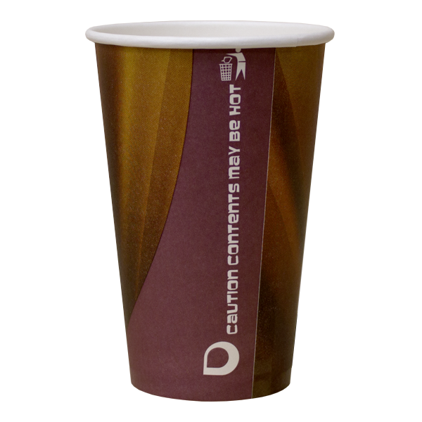 Dispo Vending Paper Cups 12oz Prism Vending