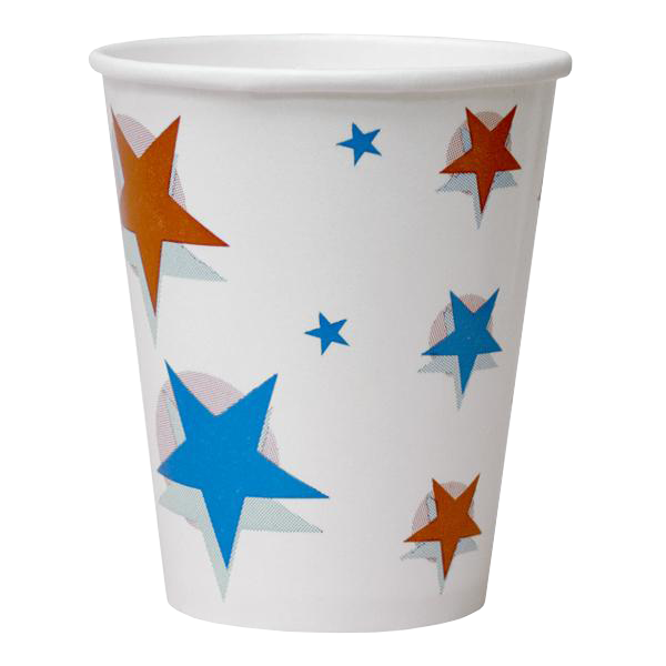 Dispo Cold Cups Star Ball Paper Cup