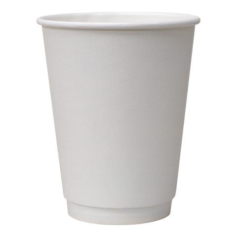 Dispo Double Wall Paper Cups White Double Wall