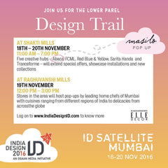 Masilo Pops Up at ID Satellite Mumbai Design Trail