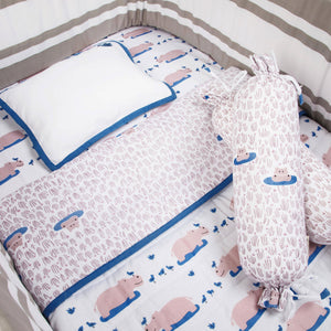 Mini Cot Set – Happy As A Hippo