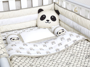 Mini Cot Set – Peekaboo Panda