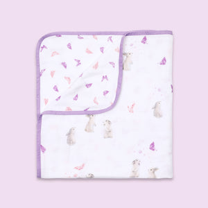 Bamboo Muslin Blanket - Bloom
