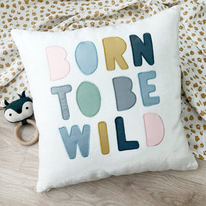 Born To Be Wild Throw Cushion