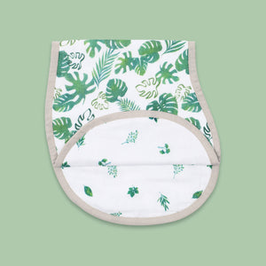Bamboo Muslin Burp Cloth & Bib