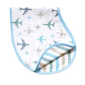 Organic Muslin Burp Cloth & Bib – Dream Wings