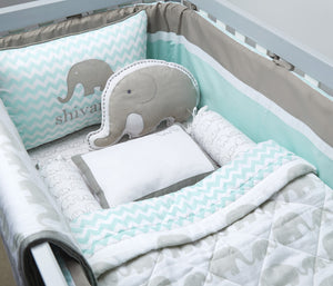 Mini Cot Set – Elephant Parade