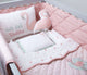 Mini Cot Set – Hello Flamingo