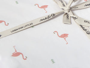 Organic Cotton Fitted Cot Sheet – Hello Flamingo