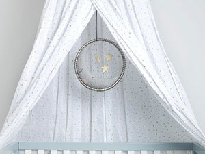 Sleep/Play Canopy – Metallic Stars