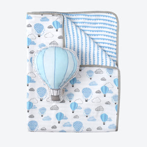 Tuck Me In Gift Bundle – Up, Up & Away (Blue)