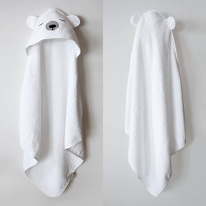 Hooded Towel – Polar Bear