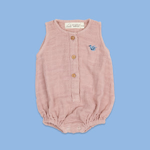 Baby Romper - Born To Be Wild (Honeycomb)