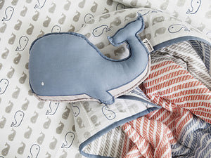 Organic Shape Cushion – Mama Whale