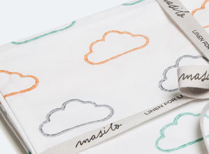 Organic Cotton Fitted Cot Sheet – Happy Cloud