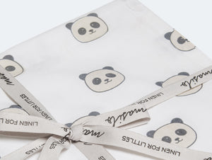 Organic Cotton Fitted Cot Sheet – Peekaboo Panda
