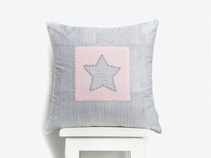 Organic Cotton Throw Cushion