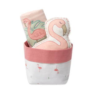 Mini Gift Basket – Hello Flamingo