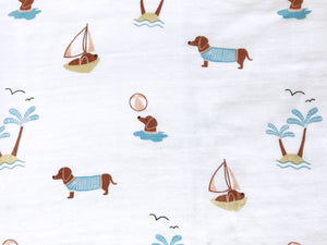 Organic Muslin Sleeping Bag – Puppy Paradise