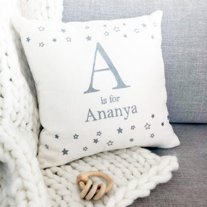 Personalised Alphabet Name Cushion
