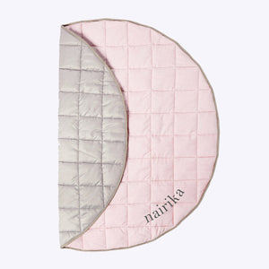 Indoor/Outdoor Quilted Playmat – Blush Pink