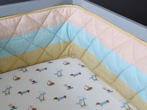 Organic Muslin Fitted Cot Sheet – Puppy Paradise