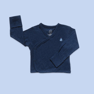 Baby Top - Navy Heather