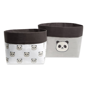 Fabric Storage Baskets – Peekaboo Panda