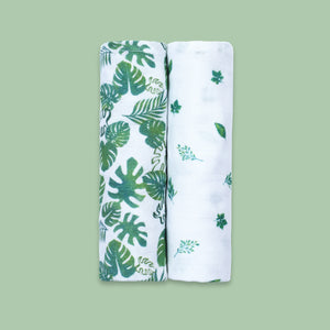 Bamboo Muslin Swaddles (Set of 2)