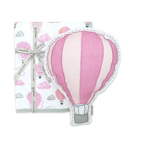 Tuck Me In Gift Bundle – Up, Up & Away (Pink)